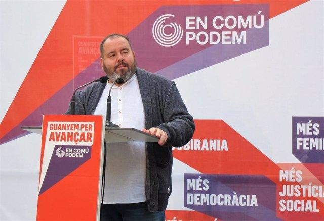"""28A.- Los Comuns Ven Un """"Juego De Tronos"""" En El Independentismo Y A ERC Sometida A Puigdemont"""
