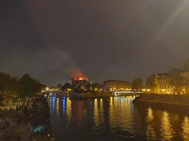 Notre Dame cathedral ravaged by fire