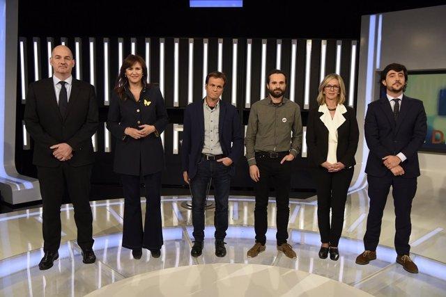 28A.- Borràs i Asens critiquen que la resta de líders catalans no vagin al debat de RTVE