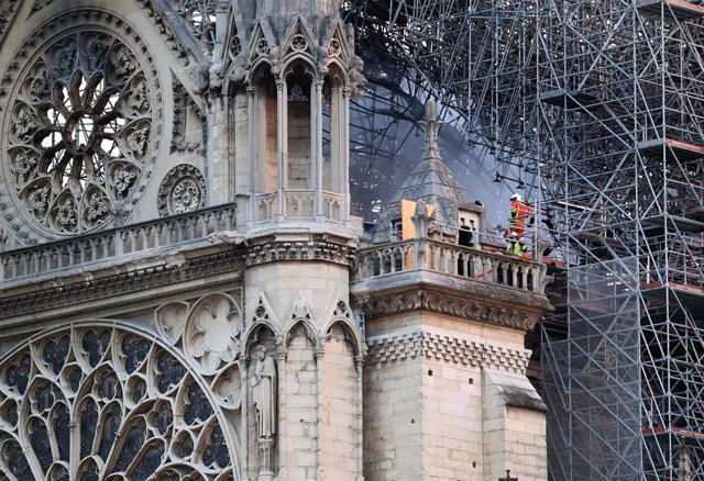 Notre Dame Cathedral blaze under control in Paris