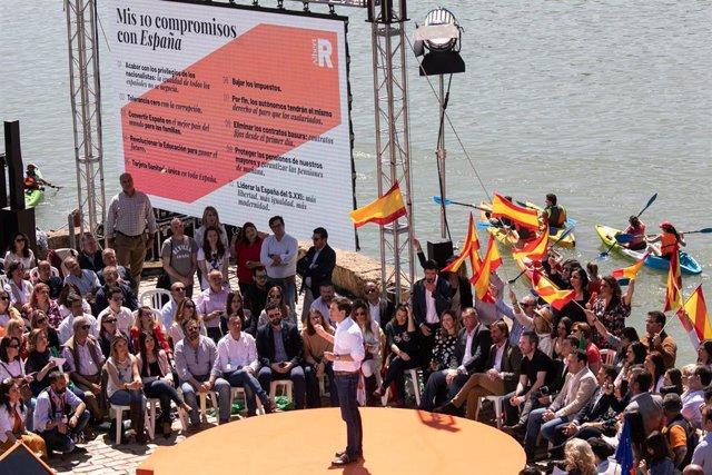 Acto público de Albert Rivera en Sevilla