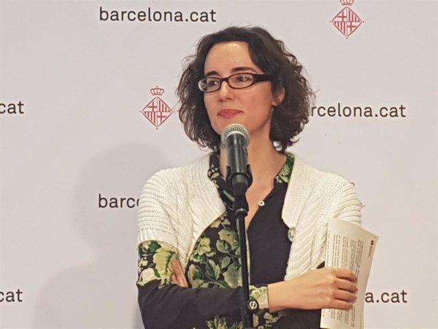 La regidor de Barcelona Mercedes Vidal