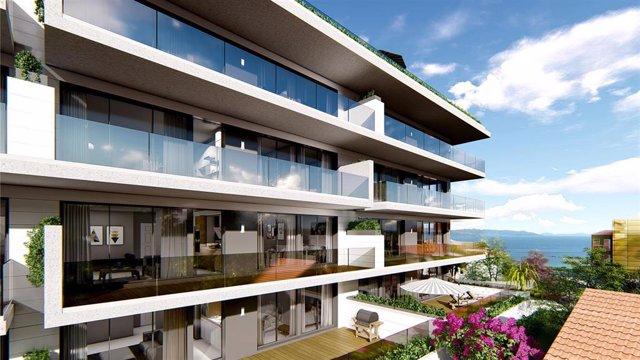 La inmobiliaria Avintia inicia las obras de una promoción de viviendas en Portonovo con un coste de 6,5 millones