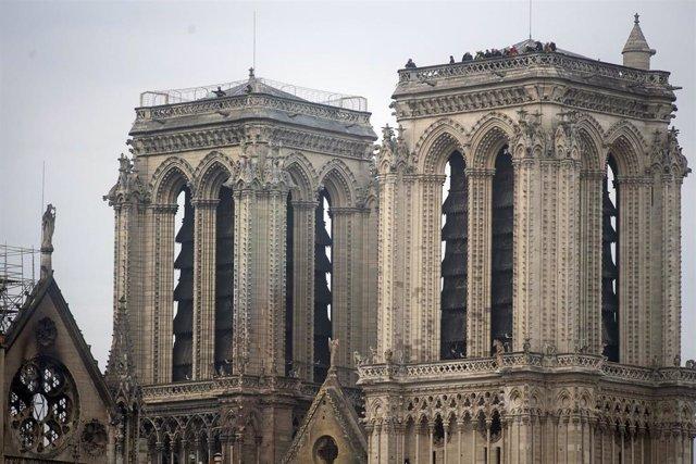 Notre Dame Cathedral blaze under control in Paris