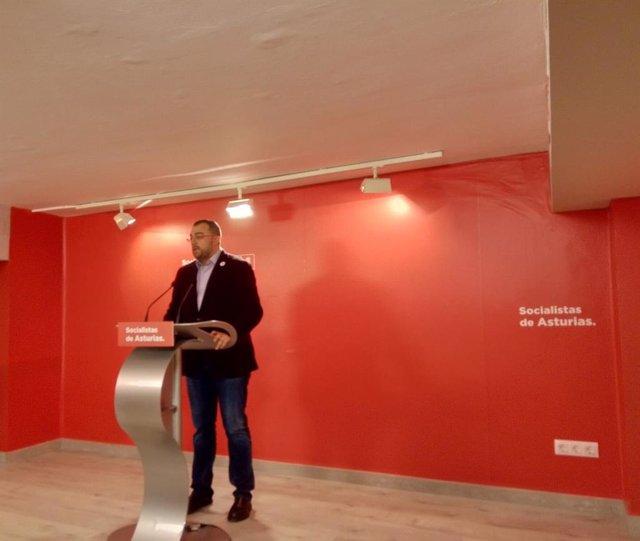 """28A.- Barbón (PSOE) Pide Una """"Alianza Estratégica En Defensa De La Democracia"""" Ante La """"Amenaza"""" De Vox"""