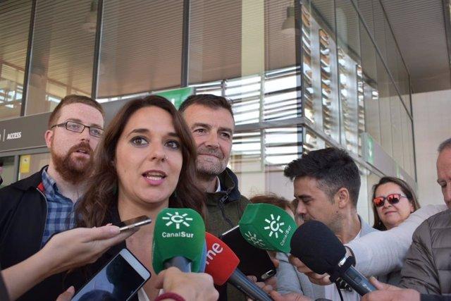 """28A.-Vera Pide El Voto Para Unidas Podemos Para Evitar """"Repetir Tripartito Andaluz O Una Derecha Disimulada Con PSOE-Cs"""""""