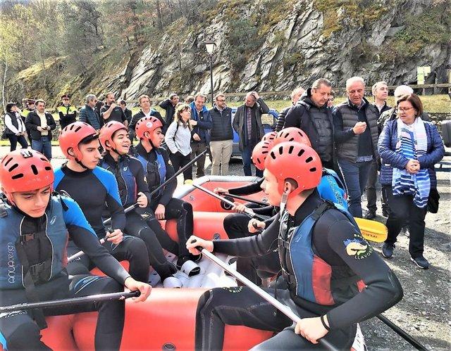 Lleida prevé superar por primera vez los 750.000 servicios de deportes de aventura