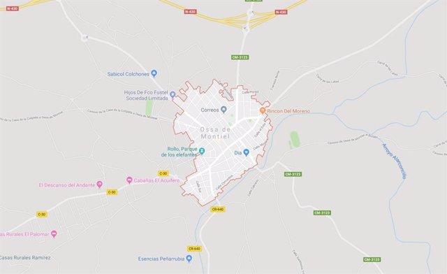 Sucesos.- Fallece el conductor de un tractor tras la colisión con un turismo en Ossa de Montiel