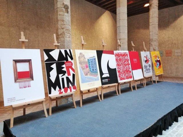 La ciudadanía de Pamplona ya puede elegir al cartel que anunciará los Sanfermines 2019