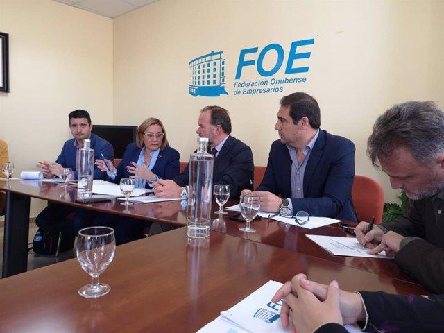 Huelva.- 28A.- PSOE apuesta por mejorar la colaboración pública y privada y por atraer inversiones de los dos ámbitos