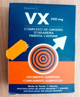 Sanidad retira un complemento alimenticio por contener 'Viagra' y no declararlo en su etiquetado