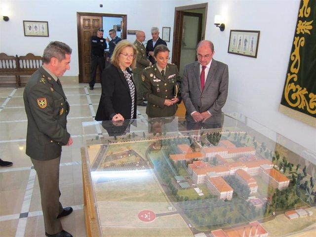 Zaragoza.- El Hospital Militar ampliará el servicio de hospital de día de dos a cinco días a la semana
