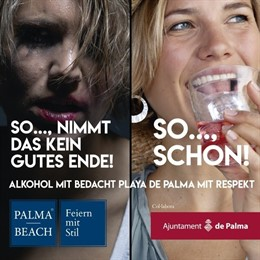 Cort y Palma Beach inician una campaña contra el incivismo en Playa de Palma