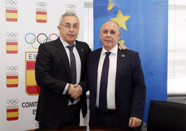 P.Deportiva.- El COE y la FEMP colaborarán para difundir los valores olímpicos a nivel municipal