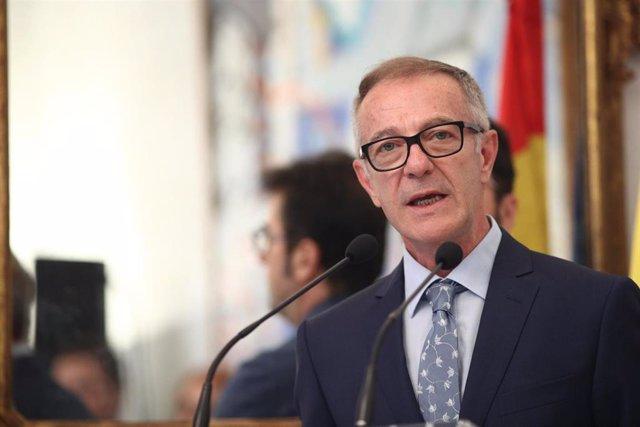 El ministro de Cultura y Deportes, José Guirao