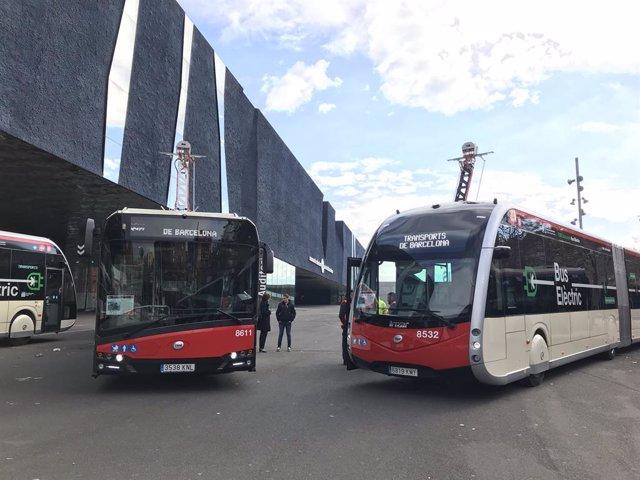 Nuevos autobuses eléctricos articulados de TMB