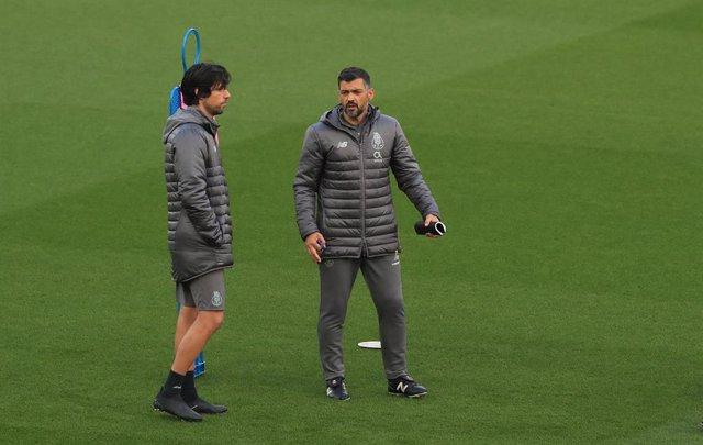 UEFA Champions League - Porto training