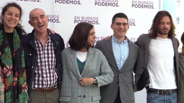 """26M.- Podemos Apela Al Espíritu De Los Comuneros Para """"Alzar La Bandera Morada"""" Y Lograr La Alcaldía De Burgos"""