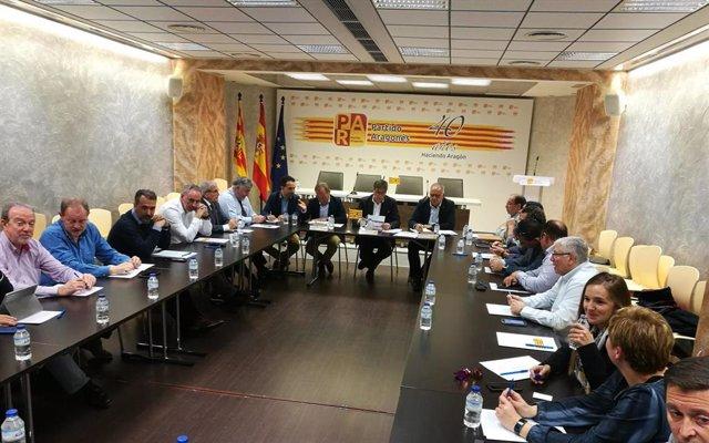 26M.- El PAR Presenta Unas Renovadas Listas A Las Cortes De Aragón En Las Que Prima La Presencia Al Territorio