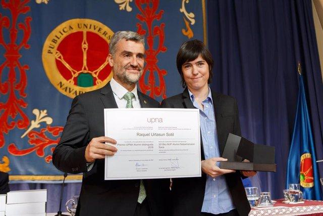 La UPNA convoca la cuarta edición del Premio Alumni UPNA Distinguido y la tercera del Premio Entidad Distinguida