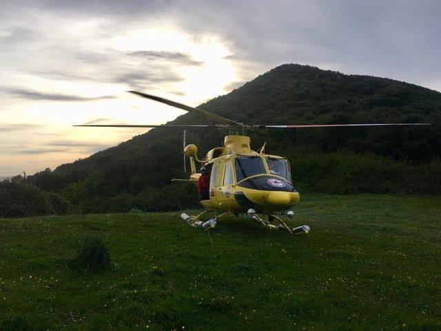 Rescatados dos adultos y un menor perdidos en el monte Buciero