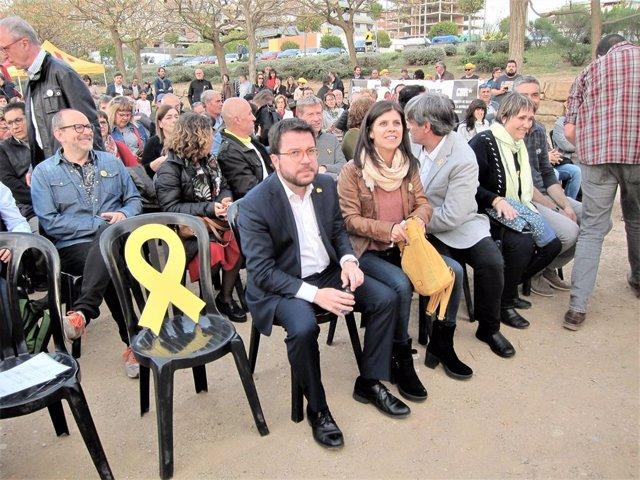 """28A.- ERC Després del Permís De la JEC: """"Junqueras Trencar La Mordassa. No Volien Brou, Dues Tasses"""""""