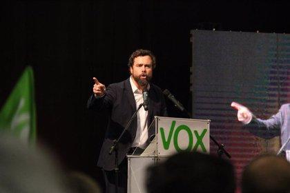 """Espinosa dice que la exclusión de Vox del debate de Atresmedia es una """"conspiración"""" para que ganen las elecciones"""