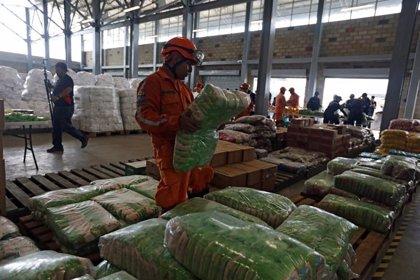 Argentina envía 29 toneladas de alimentos con destino a Venezuela