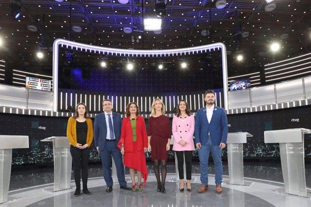 AMP.- 28A Debat.- Álvarez de Toledo (PP) i Irene Montero (Podem) s'enreden per la reforma dels delictes sexuals