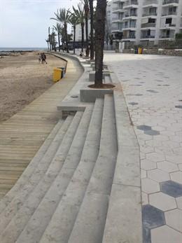 Proposta per Eivissa critica que el nou passeig de Figueretes inclou barreres arquitectòniques