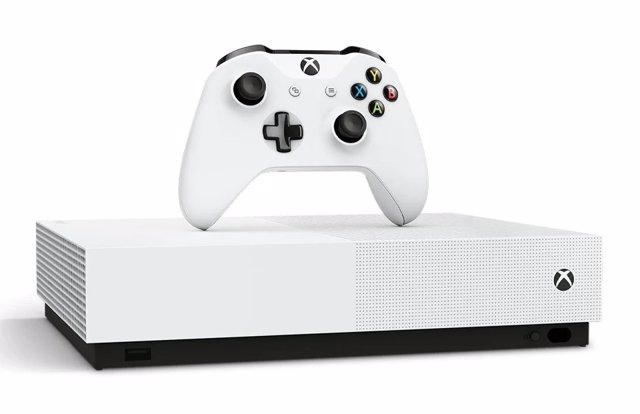 Microsoft presenta la versión All-Digital de su consola Xbox One S, solo para contenidos digitales