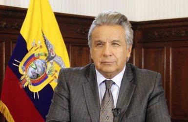 """Moreno assegura que Assange tractava el personal de l'ambaixada de l'Equador a Londres com """"servents"""" (PRESIDENCIA ECUADOR - Archivo)"""