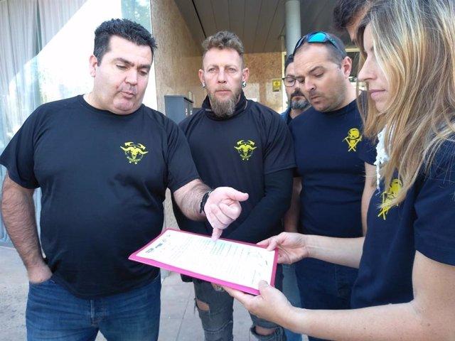 El Comitè d'empresa de l'Ibanat demana a Vidal la categoria professional de bomber forestal en la CNO 5232