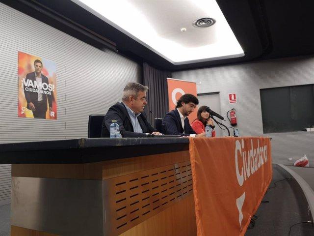 """28A.- Roldán Apuesta Por Un Gobierno De Cs """"Con Reformas, Transformación, Modernización, Abierto, Liberal Y Europeísta"""""""