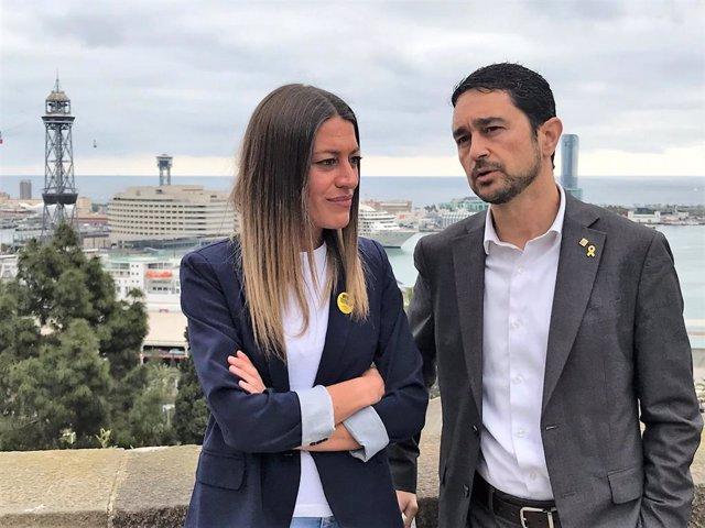 "28A.- Calvet Replica A Rufián Sobre Jxcat: ""Sóc De Centreequerra I Socialdemòcrata"""