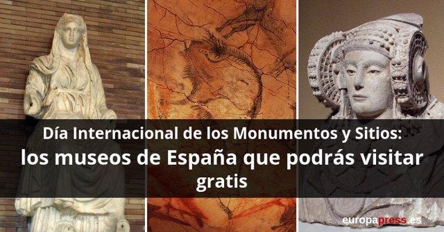 Museos gratis en toda España que puedes ver el Día Internacional de los Monumentos y Sitios