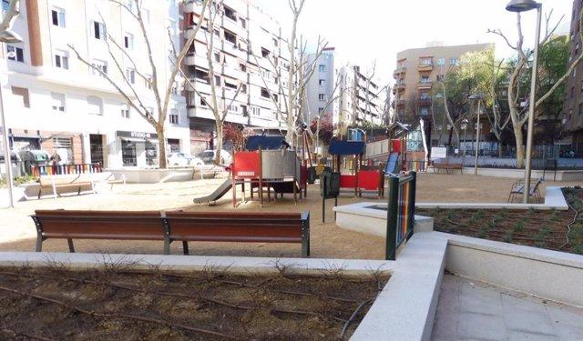Arrancan las obras del parque de San José de Calasanz, en Chamberí, materializando las demandas ciudadanas
