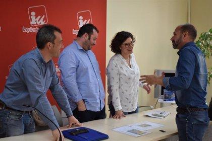Gijón.- IU se compromete con los trabajadores de Jove a incrementar la plantilla del centro
