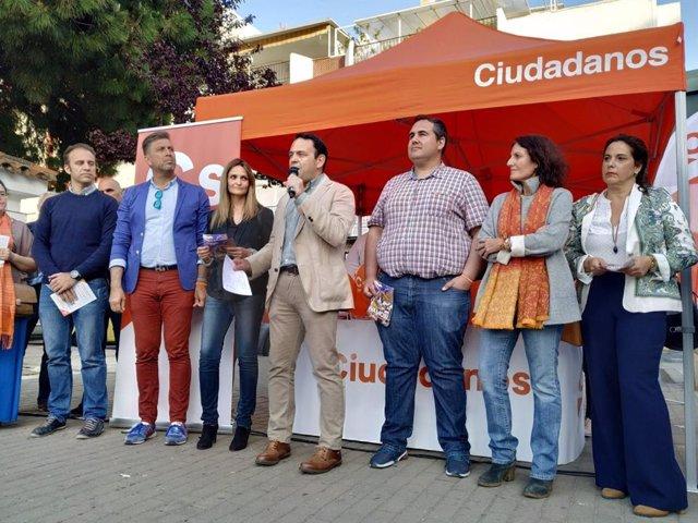 """Huelva.- 28A.- Hermoso (Cs) asegura que """"Huelva tiene en su mano conquistar su futuro"""" en las generales"""
