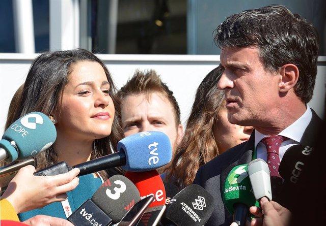 Arrimadas tancar la llista de Manuel Valls a l'Alcaldia de Barcelona