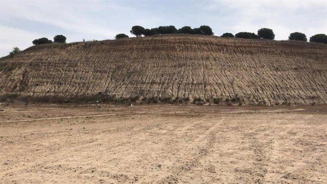"""PP insta a Carmena a que """"agilice"""" la retirada del montículo de la parcela donde se construirá un IES en Montecarmelo"""