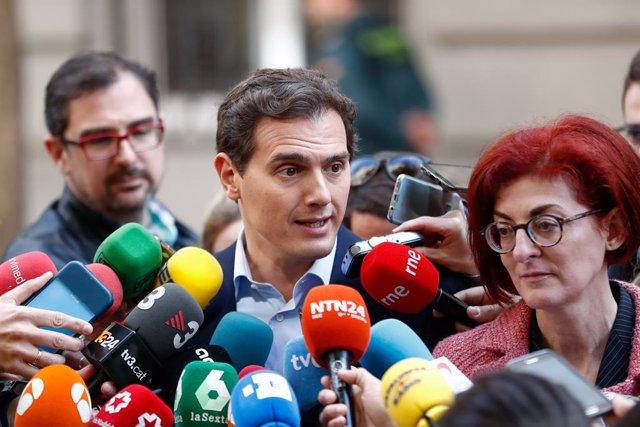 Ciudadanos presenta una denúncia davant la Fiscalia pels incidents en l'acte del partit a Renteria (Guipúscoa) del passat 13 d'abril
