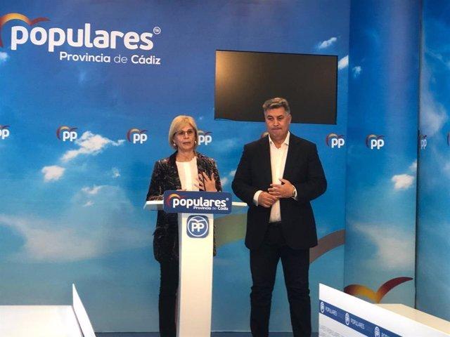 """Cádiz.- 28A.- El PP apuesta por hacer del empleo """"un valor seguro en la provincia de Cádiz"""""""