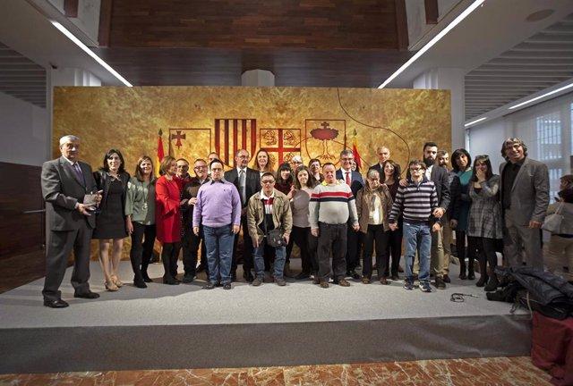 Lambán destaca en Teruel las capacidades de Aragón desde su origen, reforzadas con el autogobierno