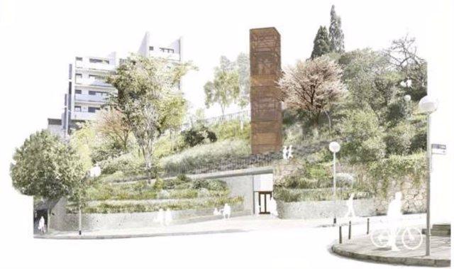 El ascensor de la L3 en Vallcarca se empezará a construir en 2020