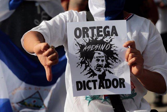 Nicaragua.- Eurodiputados reclaman sanciones contra el Gobierno de Ortega por el deterioro democrático en Nicaragua