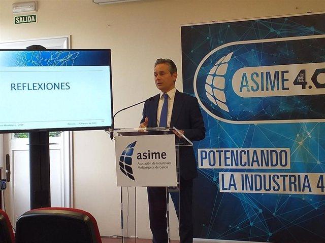 O sector metalúrxico galego pechou 2018 cunha facturación de 13.400 millóns e un aumento do 3,4 % de emprego