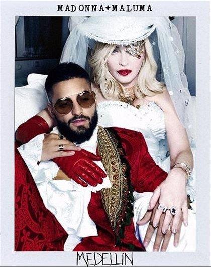 Madonna y Maluma, juntos en el sencillo 'Medellín'