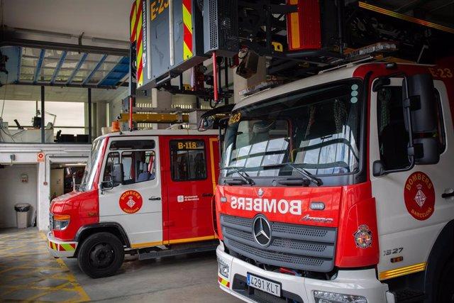 Successos.- Extingit un incendi en un pub del carrer Ferran de Barcelona sense ferits