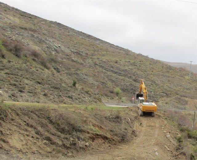 Iniciadas las obras de mejora de la carretera del Camero Viejo con un presupuesto de 1,3 millones